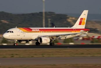EC-JFG - Iberia Airbus A320