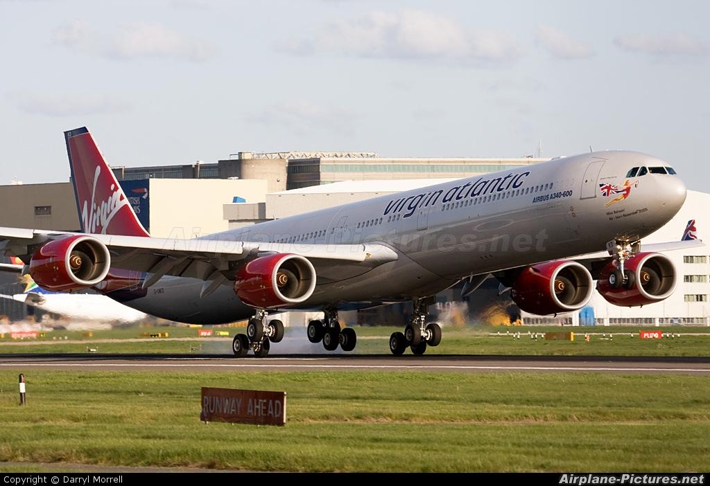 Virgin Atlantic G-VWKD aircraft at London - Heathrow