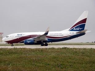 5N-MJE - Arik Air Boeing 737-700