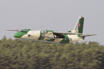 3208 - Slovakia -  Air Force Antonov An-26 (all models)