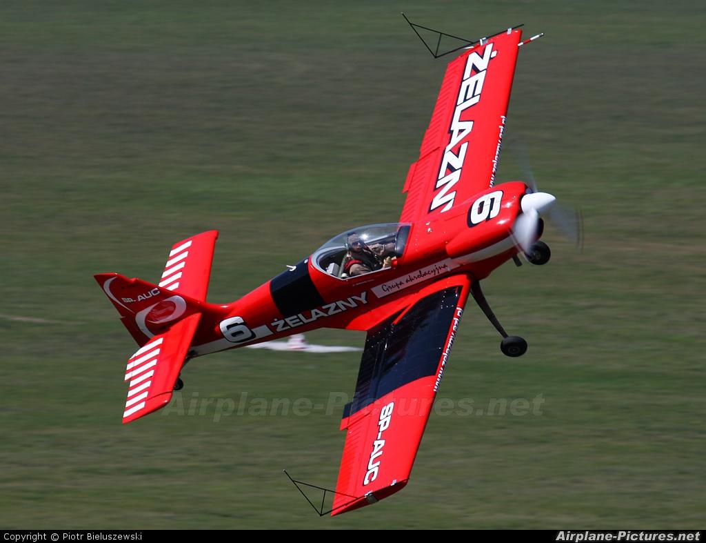 Grupa Akrobacyjna Żelazny - Acrobatic Group SP-AUC aircraft at Zielona Góra - Przylep