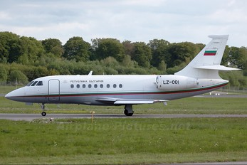 LZ-OOI - Bulgaria - Government Dassault Falcon 2000 DX, EX