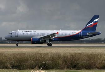 VP-BZS - Aeroflot Airbus A320