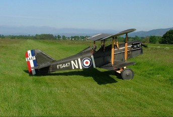 G-BKER - Private Royal Aircraft Factory S.E.5A