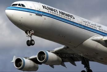 9K-ANA - Kuwait Airways Airbus A340-300