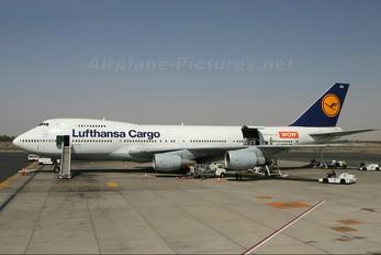 D-ABZA - Lufthansa Cargo Boeing 747-200F