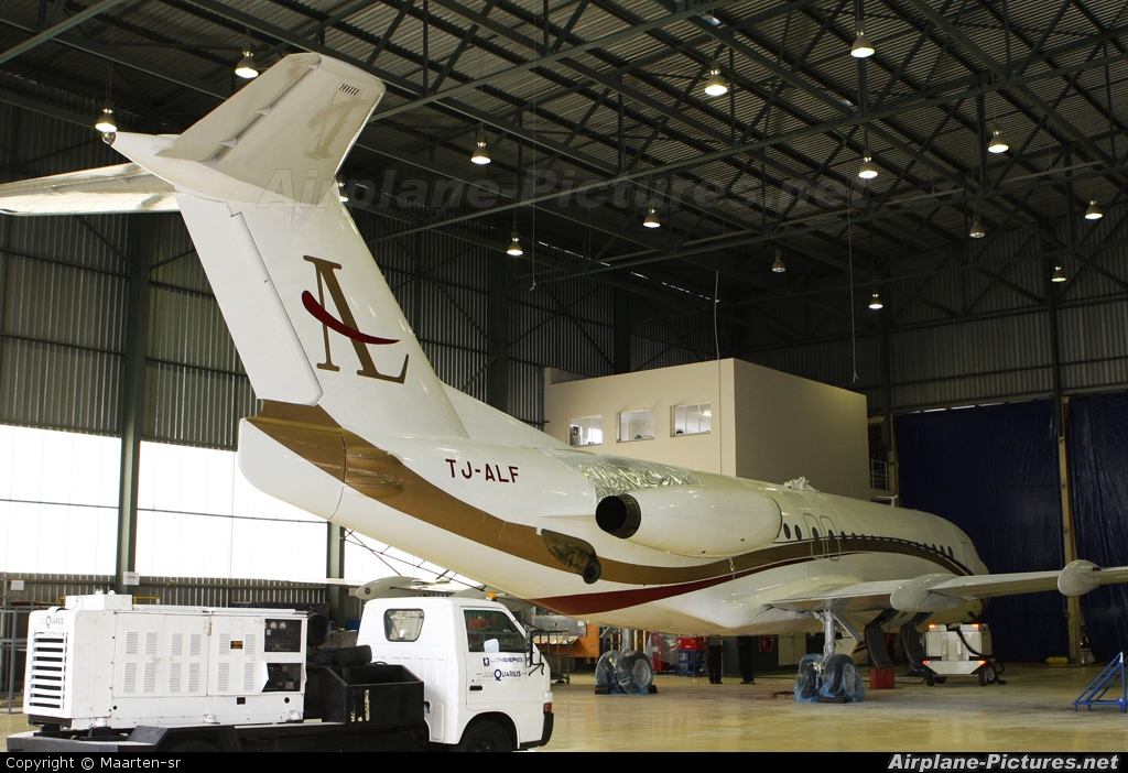 Air Leasing Cameroon TJ-ALF aircraft at Lanseria
