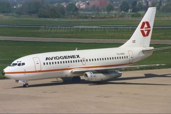 YU-ANX - Aviogenex Boeing 737-200