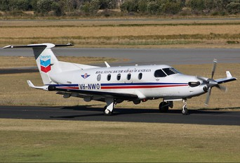 VH-NWO - Royal Flying Doctor Service Pilatus PC-12