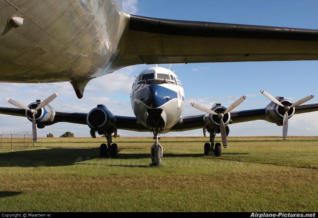 Skyclass ZS-AUA aircraft at Johannesburg - Rand