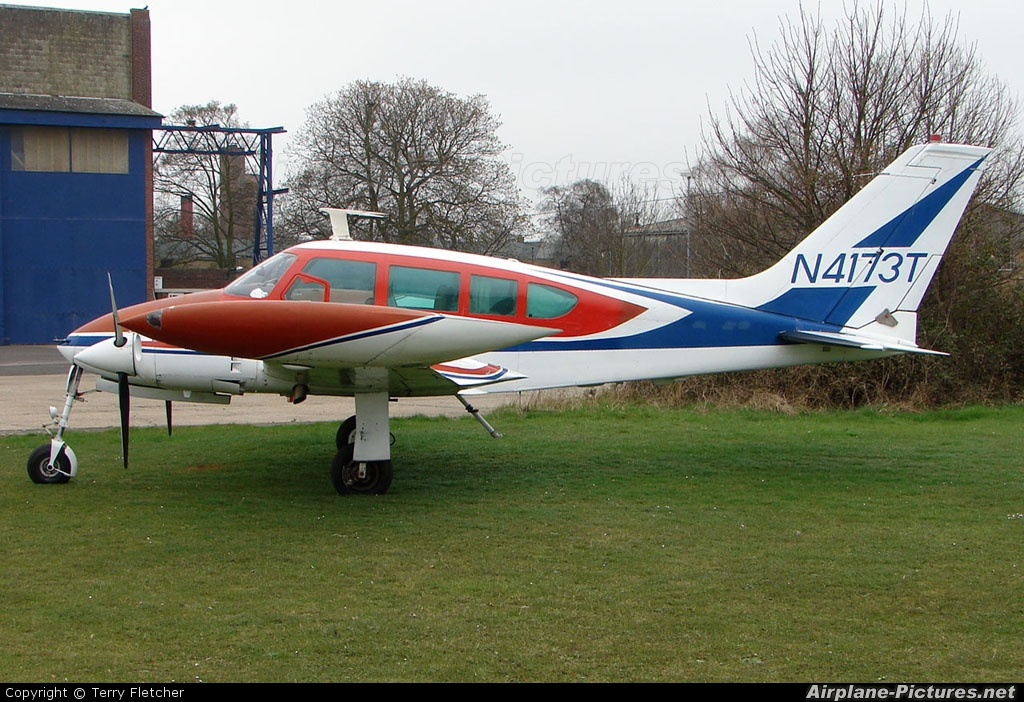 Private N4173T aircraft at Cranfield