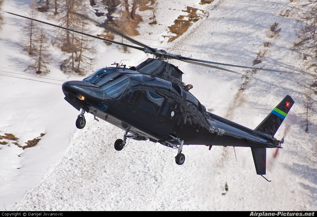 Private HB-ZIP aircraft at Samedan - Engadin