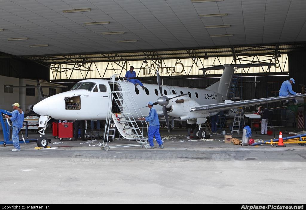United Nations ZS-OLU aircraft at Lanseria