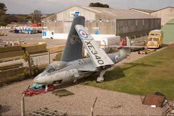 XE340 - Royal Navy Hawker Sea Hawk FGA.6