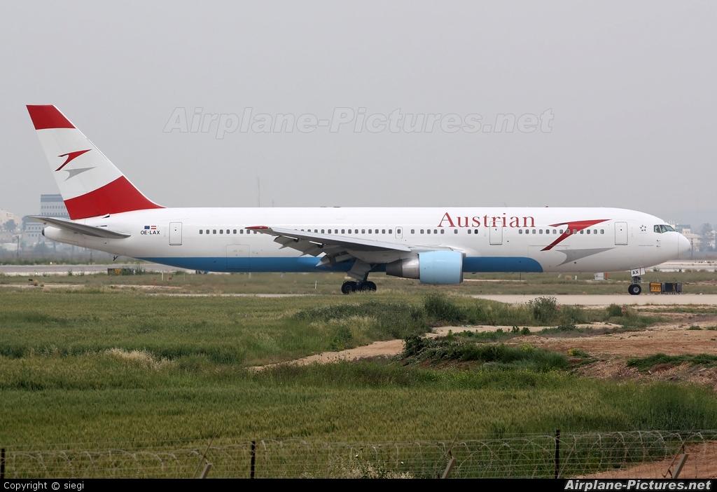 Austrian Airlines/Arrows/Tyrolean OE-LAX aircraft at Tel Aviv - Ben Gurion