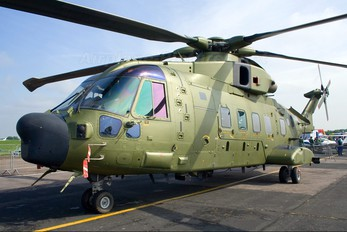 ZK001 - Royal Air Force Agusta Westland AW101 411 Merlin HC.3