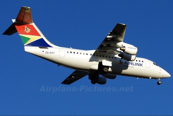 ZS-ASY - South African Airlink British Aerospace BAe 146-200/Avro RJ85