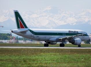 I-BIKO - Alitalia Airbus A320
