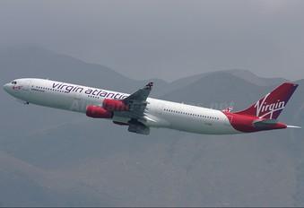 G-VSUN - Virgin Atlantic Airbus A340-300