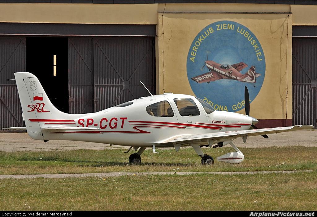 Private SP-CGT aircraft at Zielona Góra - Przylep