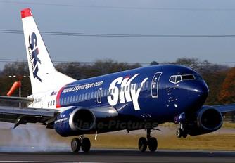 OM-SEG - SkyEurope Boeing 737-500