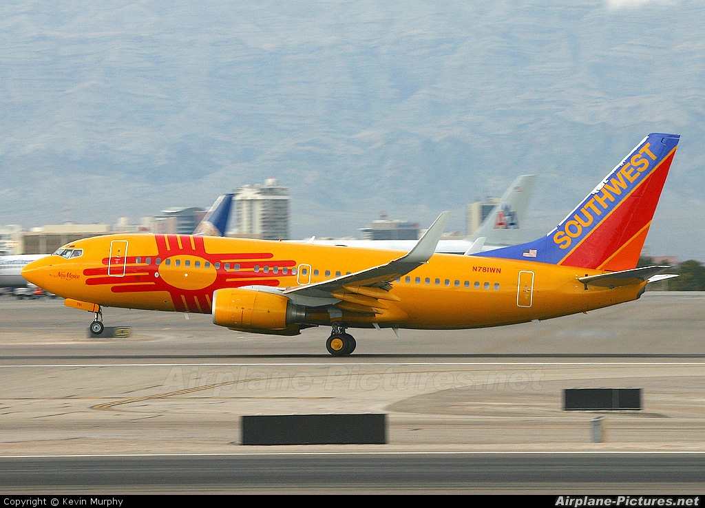 Southwest Airlines N781WN aircraft at Las Vegas - McCarran Intl