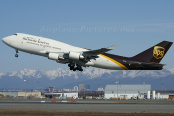 N579UP - UPS - United Parcel Service Boeing 747-400BCF, SF, BDSF