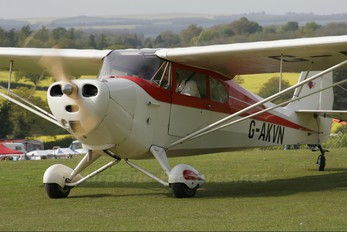 G-AKVN - Private Aeronca Aircraft Corp 11AC Chief
