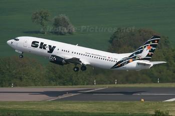 TC-SKD - Sky Airlines (Turkey) Boeing 737-400