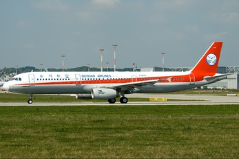 D-AVZV - Sichuan Airlines  Airbus A321