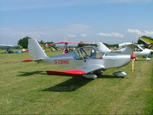 G-CBWE - Private Evektor-Aerotechnik EV-97 Eurostar
