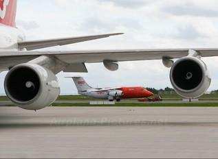 OO-TAR - TNT British Aerospace BAe 146-200/Avro RJ85-QT Quiet Trader