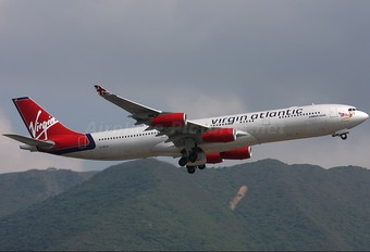 G-VELD - Virgin Atlantic Airbus A340-300