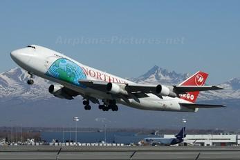 N646NW - Northwest Cargo Boeing 747-200F