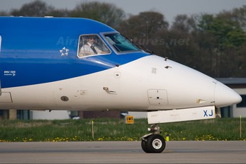 G-RJXJ - BMI Regional Embraer ERJ-135