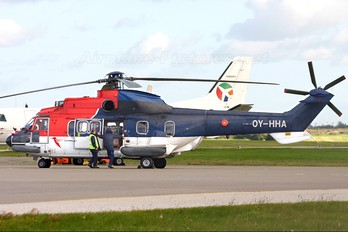 OY-HHA - CHC Denmark Aerospatiale AS332 Super Puma