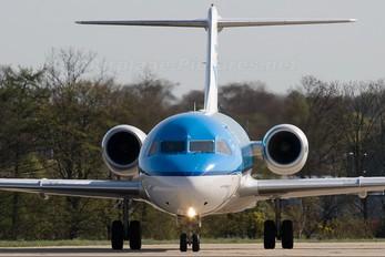PH-KZG - KLM Cityhopper Fokker 70