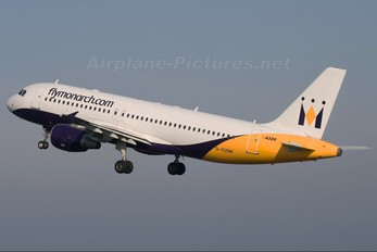 G-OZBK - Monarch Airlines Airbus A320