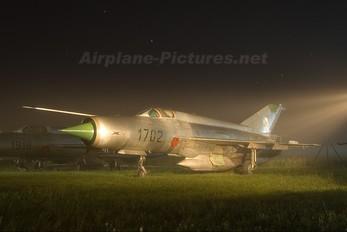 1702 - Slovakia -  Air Force Mikoyan-Gurevich MiG-21R