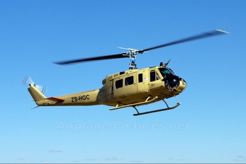 ZS-HGC - Private Bell UH-1H Iroquois