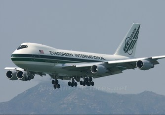 N490EV - Evergreen International Boeing 747-200F