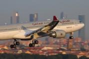 A7-AFM - Qatar Airways Airbus A330-200 aircraft