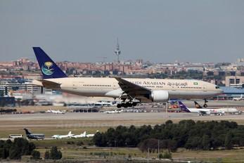 HZ-AKQ - Saudi Arabian Airlines Boeing 777-200ER