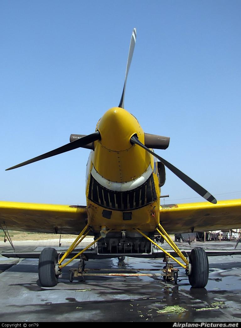 Chim-Nir Aviation 4X-AWG aircraft at Beit Hashita - Eliaz