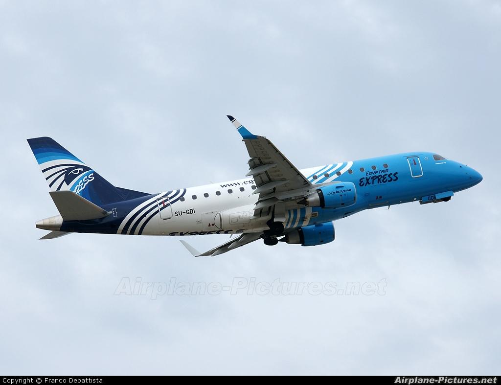 Egyptair Express SU-GDI aircraft at Malta Intl
