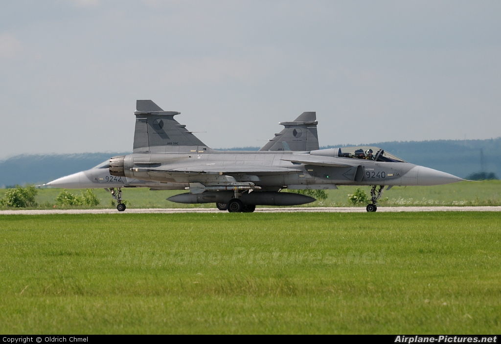 Czech - Air Force 9240 aircraft at Čáslav