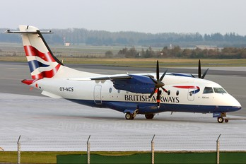 OY-NCS - British Airways - Sun Air Dornier Do.328