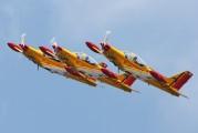 "ST-32 - Belgium - Air Force ""Hardship Red"" SIAI-Marchetti SF-260 aircraft"