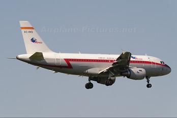 EC-KKS - Iberia Airbus A319