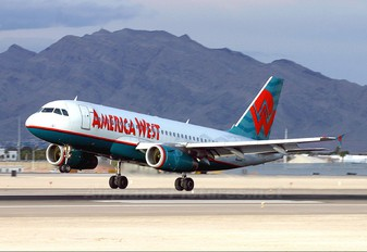 N818AW - America West Airlines Airbus A319